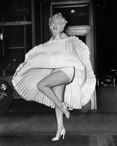 "Marilyn Monroe in the ""Seven Year Itch"""