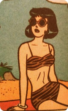 Sexy Ladies of Archie Comics Indie Kunst, Arte Indie, Indie Art, Art And Illustration, Gravure Illustration, Vintage Pop Art, Retro Art, Vintage Drawing, Kunst Inspo