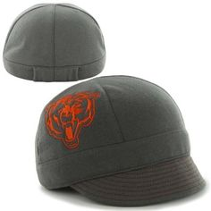 '47 Brand Chicago Bears Ladies Mantra Fitted Hat - Charcoal
