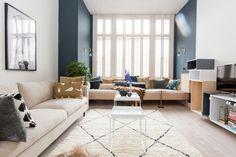Chantal en Jeff vinden het blauw uit de Color Collection (Yippee Blue) heel gaaf. Chantal, Interior Architecture, Interior Design, Boho Living Room, Baby Room Decor, New Room, Interior Inspiration, Living Room Designs, Sweet Home