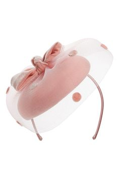 Nordstrom Dot Veil Fascinator Headband available at #Nordstrom
