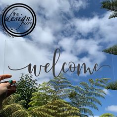 Welcome signage - perfect for a wedding . Website link in bio www.thedesignroom.co.nz * * * * * * * * * * * * * * * #thedesignroom…