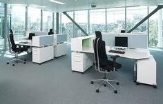 Individual space within the open plan office.   Design and Specify, office design, Leeds, Yorkshire,