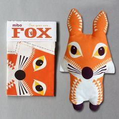 Sew your own #Fox #teatowel / #cushion
