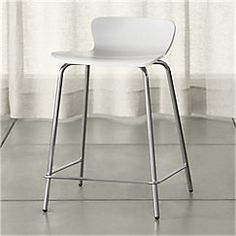 View larger image of White Counter Stool.