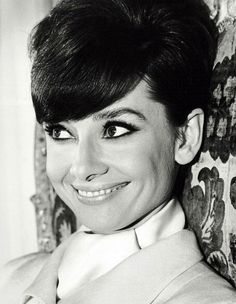 """The Fashion of Audrey The actress Audrey Hepburn photographed by Terry O'Neill for the publicity of """"How to Steal a Million"""". Paris (France), October 1965. -Audrey was wearing creations of Givenchy."""