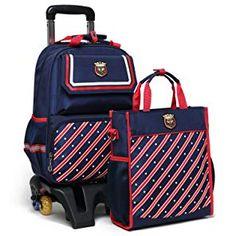 RUIPAI Children Mochilas Kids school bags With Wheel Trolley Luggage For  boys and Girls School Backpack Mochila Infantil Bolsas 072d5520ae1e5
