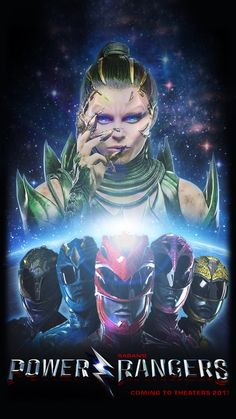 Power Rangers 2017 Movie Poster by JoeShiba on DeviantArt