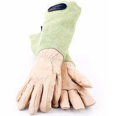 Suede Leather Gauntlet Gardening Gloves with lime green cuffs, manufactured in the heart of the UK by Bradleys The Tannery. Two size available. Alos available in Pink Suede. Leather Gauntlet, Gauntlet Gloves, Gardening For Dummies, Organic Gardening Magazine, Australian Garden, Gardening Gloves, Grow Your Own Food, Green Garden, Green Suede