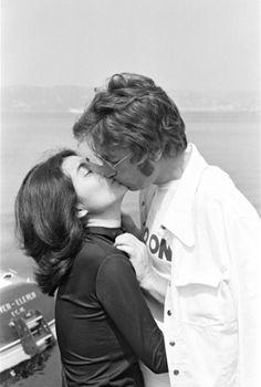 Daniel Angeli, Cannes 1971. John Lennon et Yoko Ono, le baiser