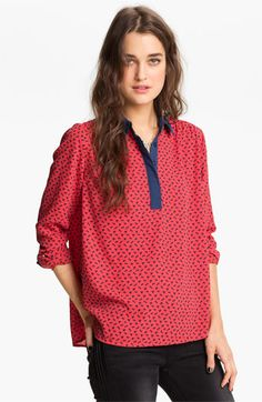 Free People Pony Print Shirt available at #Nordstrom