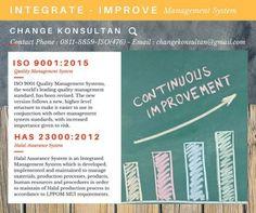 Konsultan ISO Integrate Improve