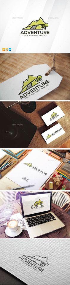 Adventure & Travel - Logo Design Template Vector #logotype Download it here: http://graphicriver.net/item/adventure-travel/13721119?s_rank=318?ref=nexion