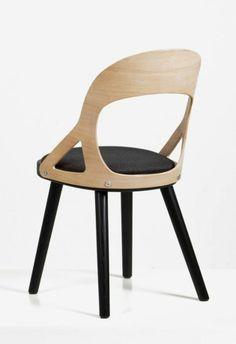Markus Johansson has designed the Colibri chair for Swedish manufacturer HansK.
