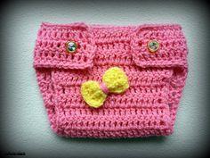 Crochet Diaper Cover  Size Newborn