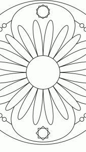 Flower Mandala Design 10 > Flower Mandalas | 마음놀이터 - 마음 그리고 성찰