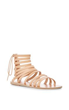 Galatia Multi Strap Sandals by ANCIENT GREEK SANDALS Now Available on Moda Operandi