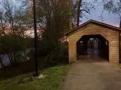 The #Harrisburg Covered #Bridge in #Sevierville is one of the last covered bridges in the area.