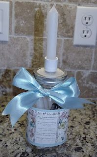 Be prepared for power outages with this easy to make and handy candle jar!