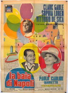 La baia di Napoli è un film diretto da Melville Shavelson. Al film partecipano Clark Gable, Sofia Loren e Vittorio De Sica.