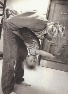 stop i can't. Kurt Cobain and wittle Frances Bean