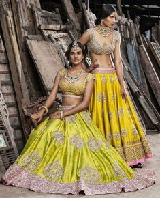 Anushree Reddy makes a colorful entrance on our List of Top Ten Wedding Trousseau Designers Indian Attire, Indian Wear, Indian Dresses, Indian Outfits, Indian Bridal Lehenga, Indian Couture, Indian Designer Wear, Indian Ethnic, Bollywood Fashion