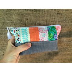 Handmade Medium Essential Oil Pouch by Sewing Sunflowers