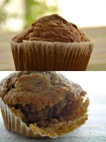 Sweets are yummy: Carrot Oatmeal Muffins
