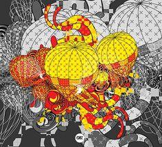 Colorful Illustrations by Oliver Santiago