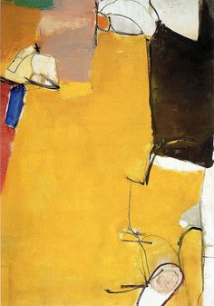 Richard Diebenkorn - Untitled, 1951 by Jan Lombardi on Flickr.