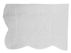 NEW White Heirloom Style Cotton Quilt $50.00 #MonogrammedQuilt