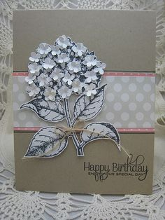 Hydrangea | HA flower stamp, PTI sentiment and pp, MS hydran… | Flickr