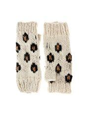 cheetah mittens