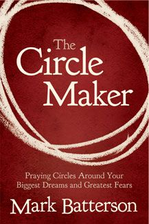 Drawing prayer circles around our dreams! It's the BEST book! We should be drawing circle prayers around our God-given dreams!