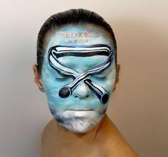 Des albums peints sur le visage pour le Disquaire Day  2Tout2Rien