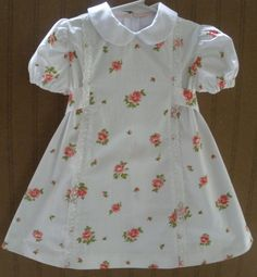 1950's Little Girl's Dress Size 4 Vintage White by SeamsOriginal, $24.00