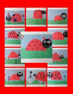 ladybugs-kindergarten collage by mycreativebuzz, via Flickr