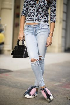 how to make jeans more distressed