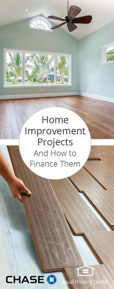 Is a room remodel or addition on your wish list? If your home needs some TLC, let the experts guide you with these makeover ideas and learn how to finance your next project.
