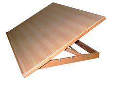 Plancha dibujo 50x75 cm inclinable madera de haya - Soportes - Accesorios - Piera