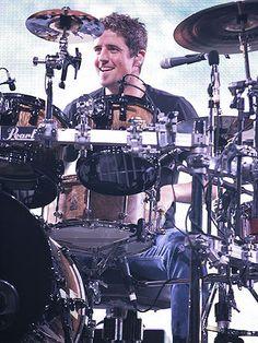 Daniel Adair of Nickelback performs live at Verizon Wireless Music Center