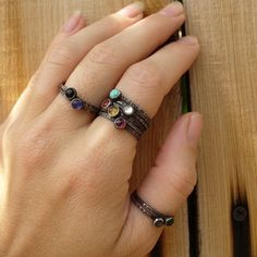 unique mother's ring