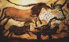 The lascaux cave paintings. apx. 25,000 BCE