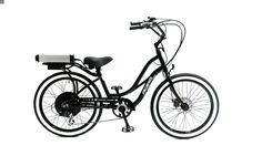"The 24"" Pedego Step-Thru Cruiser is the perfect electric bike for anyone under 5""2"