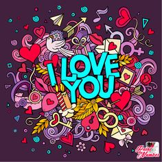 LOVE is forever 😊😊😘😘 . by artist Adult Coloring, Coloring Books, Coloring Pages, True Love Images, Cross Paintings, Happy Colors, Paint By Number, Cartoon Drawings, Art Day