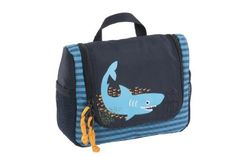 Lassig Mini Washbag, Shark  - Click image twice for more info - See a larger selection of little boys  backpacks at http://kidsbackpackstore.com/product-category/boys/- kids, juniors, back to school, kids fashion ideas, school supplies, backpack, bag , teenagers,  boys, gift ideas