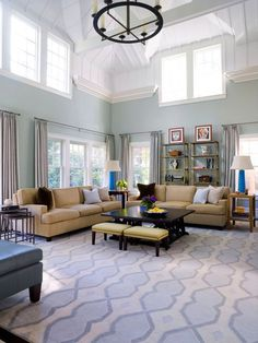 perfect marriage of coastal, modern and trad for my family room -- maybe a little more modern to spice it up. On the right track.