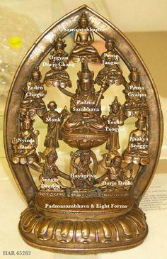 Padmasambhava & Eight Forms