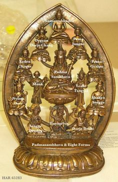 Padmasambhava & Eight Forms