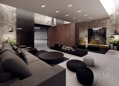 Kler Showroom Interior Design Dobrodzien Tamizo Architects Modern Living Roomsliving